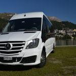 Mercedes Sprinter minibus 20px RB Taxi Limousine